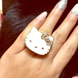 🎀HELLO KITTY🎀 Big Pink Bow Ring